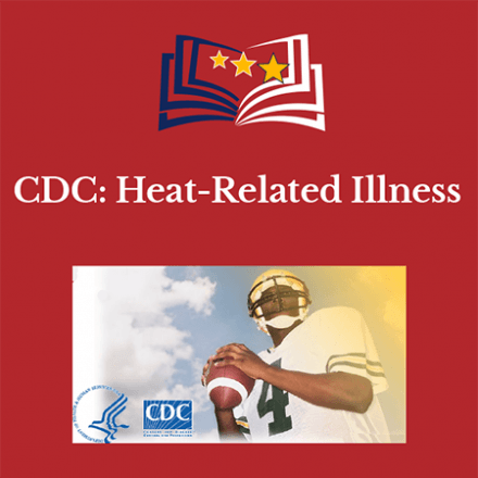 CDC:  Heat-Related Illness Course Info