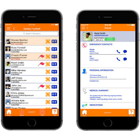 PRIVIT Sideline App The PRIVIT Sideline App provides a beneficial tool for volunteers, coaches and...